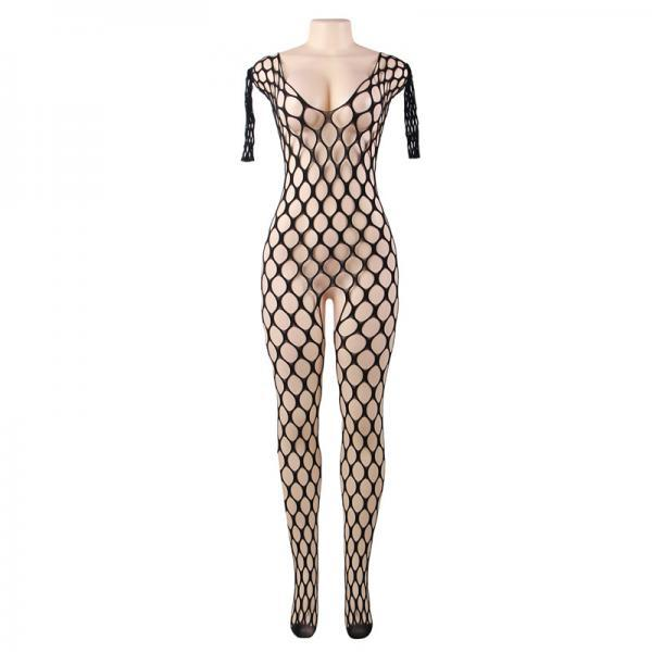 #H3015 Women's sexy exotic lingerie cut-out crotchless fishnets body stockings