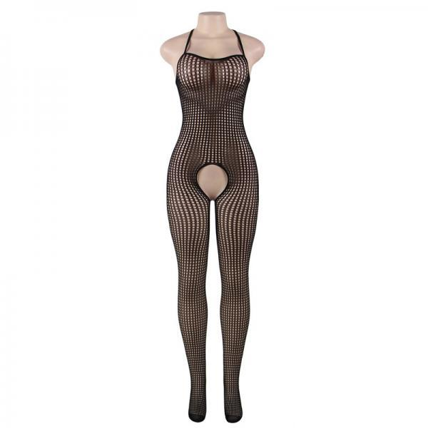 #H3016 Women's sexy exotic lingerie cut-out crotchless fishnets body stockings